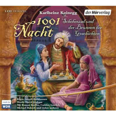 1001 Nacht, 1 Audio-CD