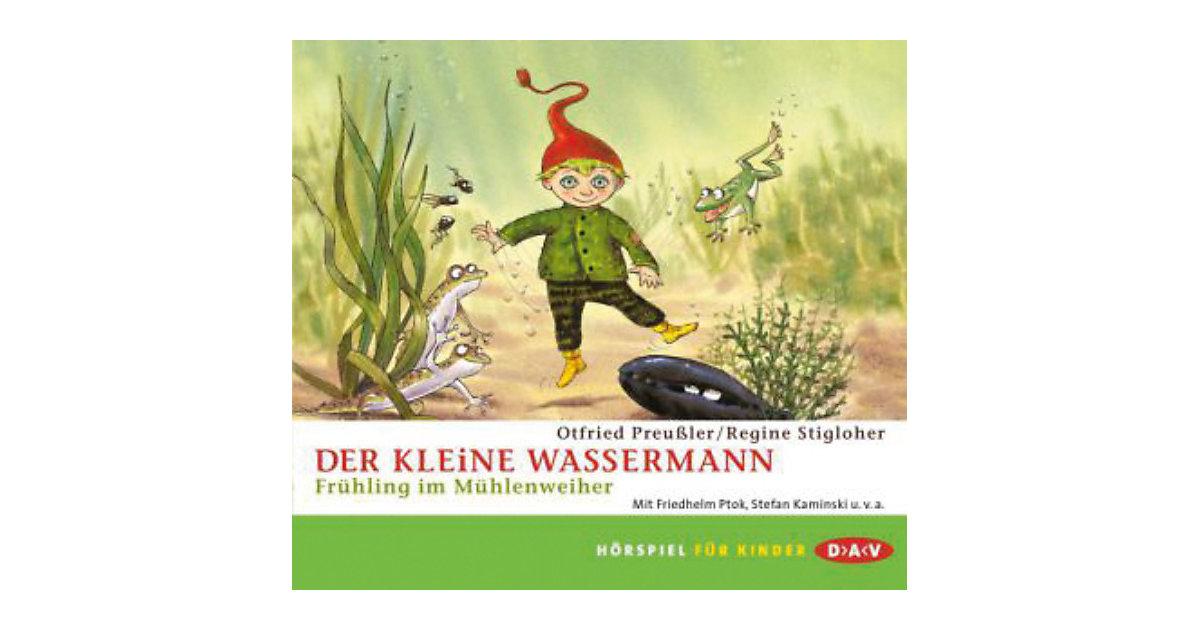 Der kleine Wassermann - Frühling im Mühlenweiher, 1 Audio-CD Hörbuch