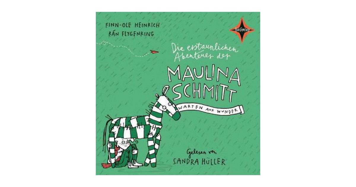 Die erstaunlichen Abenteuer der Maulina Schmitt: Warten auf Wunder, 2 Audio-CDs Hörbuch