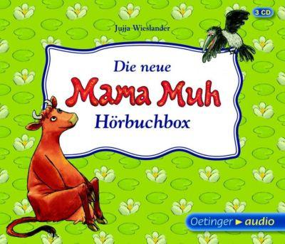Die Neue Mama Muh Hörbuchbox 3 Audio Cds Jujja Wieslander Mytoys