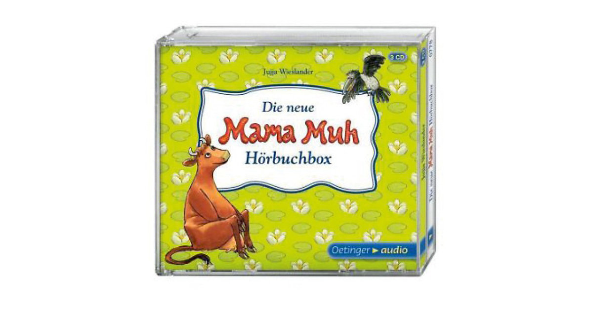 Die neue Mama-Muh-Hörbuchbox, 3 Audio-CDs Hörbuch