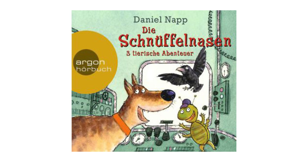 Die Schnüffelnasen, 4 Audio-CDs