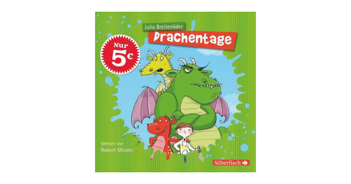Drachentage, 2 Audio-CDs