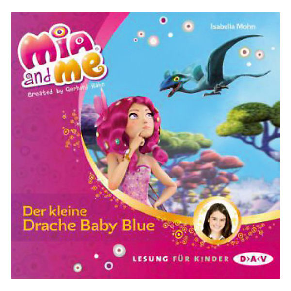Mia and me: Der kleine Drache Baby Blue, 1 Audio-CD