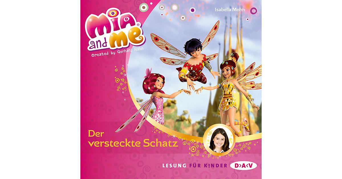 Mia and me: Der versteckte Schatz, 1 Audio-CD Hörbuch