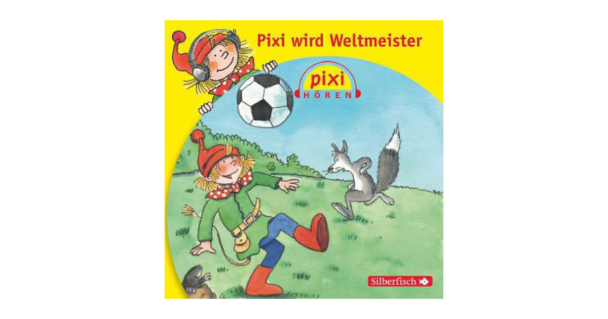 Pixi Hören: Pixi wird Weltmeister, 1 Audio-CD