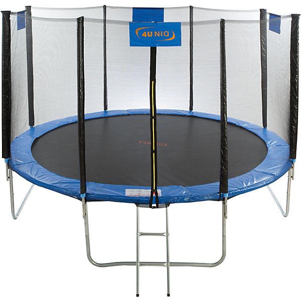 trampolin 366 mit sicherheitsnetz 4uniq mytoys. Black Bedroom Furniture Sets. Home Design Ideas
