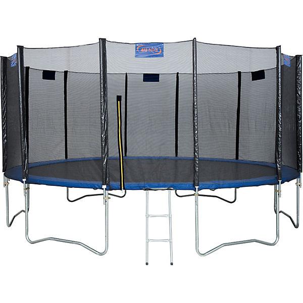 trampolin 488 mit sicherheitsnetz 4uniq mytoys. Black Bedroom Furniture Sets. Home Design Ideas
