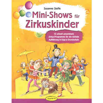 Mini-Shows für Zirkuskinder