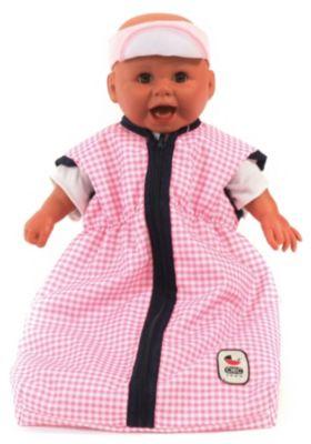 Bayer Chic 2000 Puppenschlafsack Schlafsack für Puppe NEU Pinky Bubbles