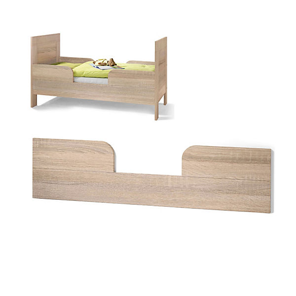 zubeh r umbauseitenteil mit rausfallschutz f r kinderbett. Black Bedroom Furniture Sets. Home Design Ideas