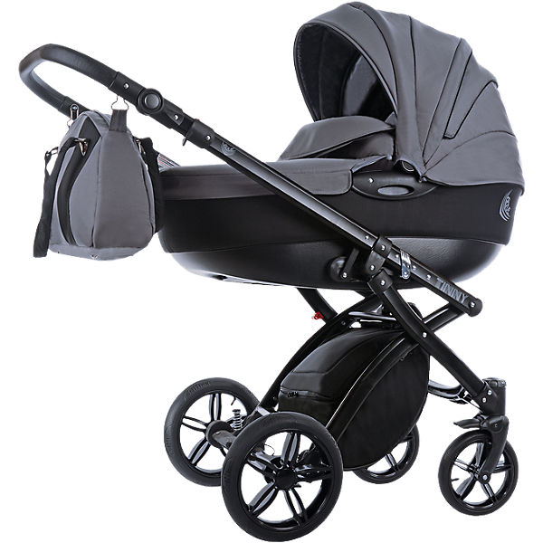 Kombi Kinderwagen Alive Elements, Tinny grau