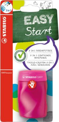 Dosenspitzer EASYsharpener 3 in 1 Rechtshänder pink