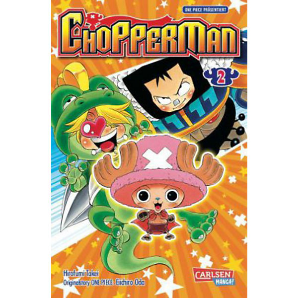 Chopperman, Band 2