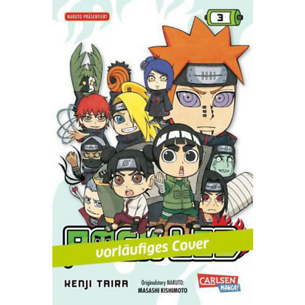 Rock Lee, Band 3