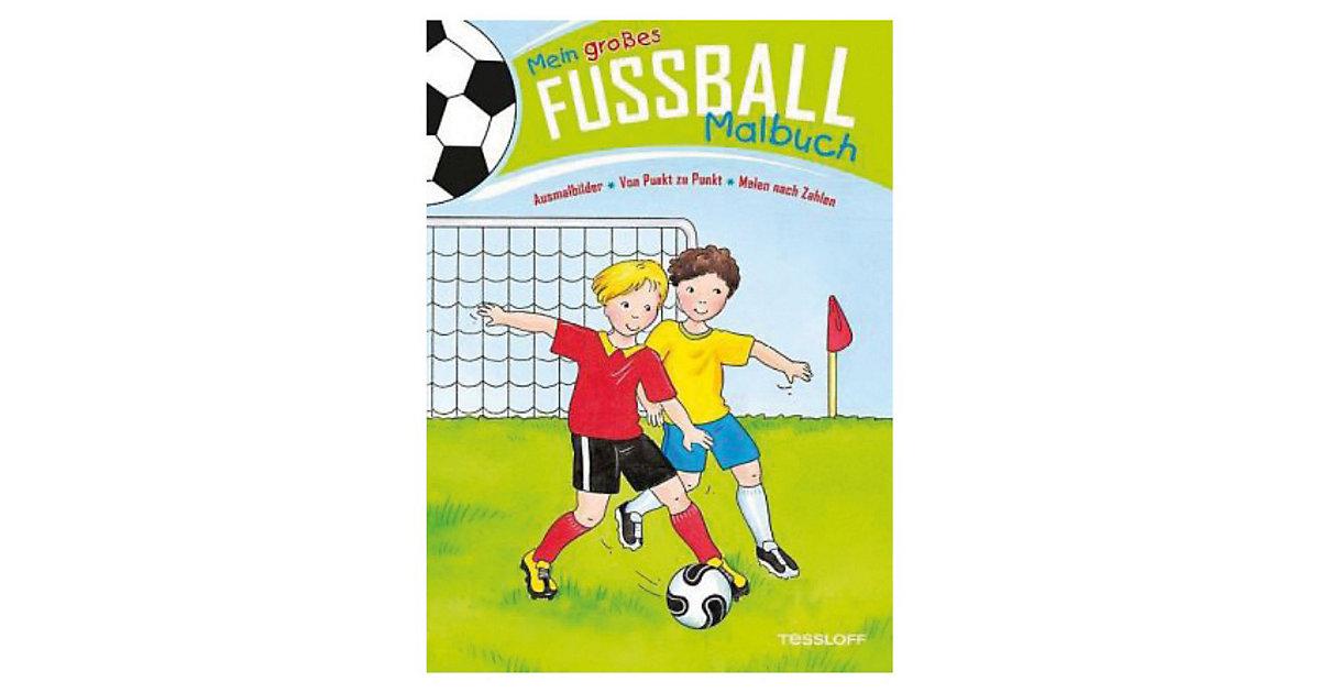 Mein großes Fußball-Malbuch, Suchbilder Von Punkt zu Punkt Malen nach Zahlen