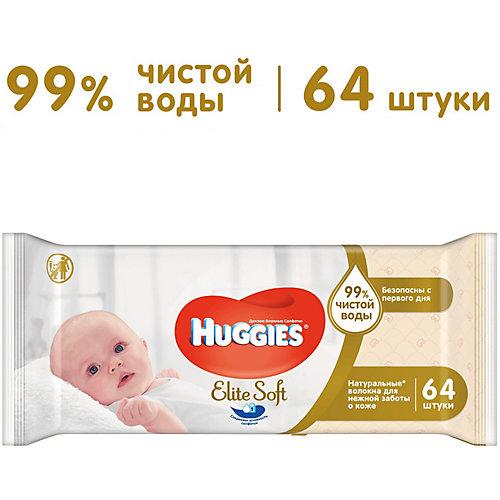 Детские влажные салфетки Huggies Ultra Comfort Natural, 64 шт. от HUGGIES
