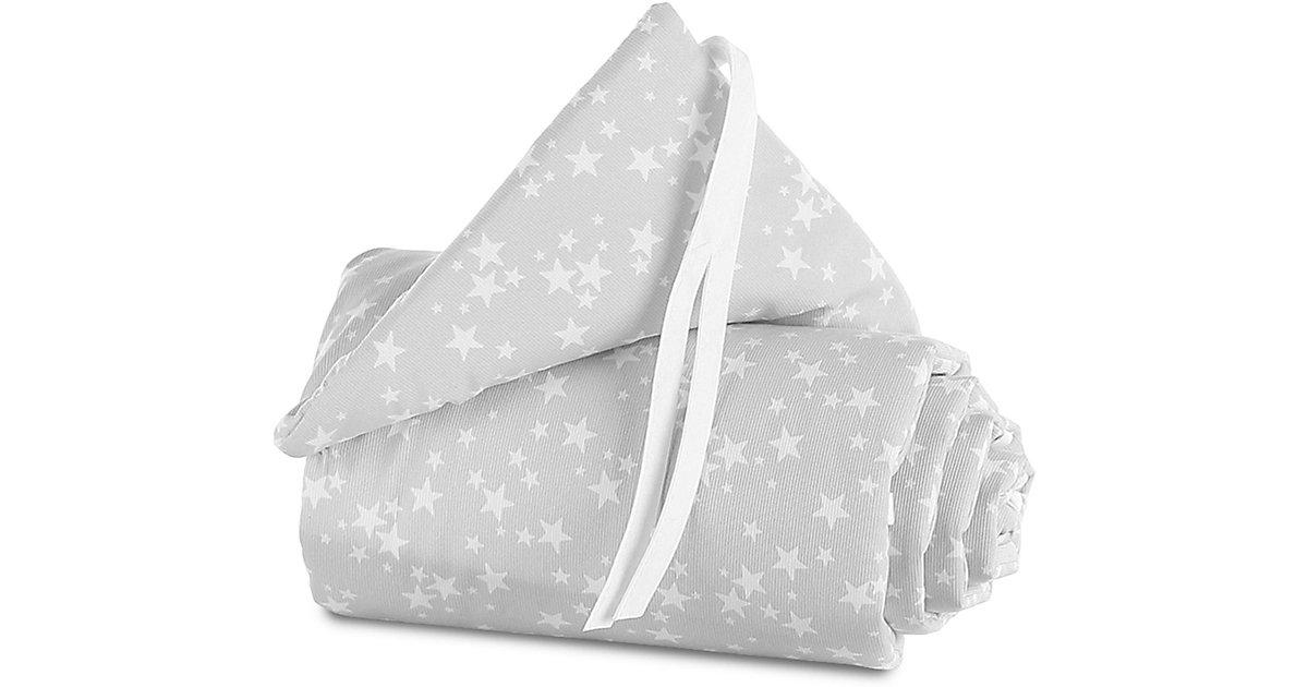 Nestchen babybay original, Sterne weiß, 144 x 25 cm Gr. 25 x 145 Kinder