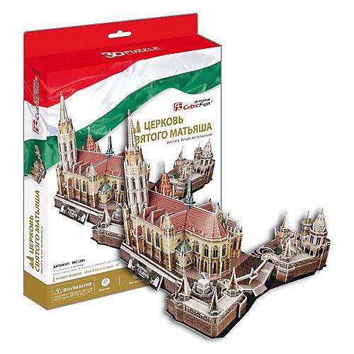 """Пазл 3D """"Церковь Святого Матьяша (Венгрия)"""", CubicFun от CubicFun"""