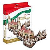 """Пазл 3D """"Церковь Святого Матьяша (Венгрия)"""", CubicFun"""