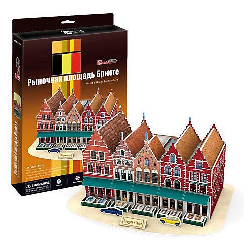 """Пазл 3D """"Рыночная площадь Брюгге (Бельгия)"""", CubicFun от CubicFun"""
