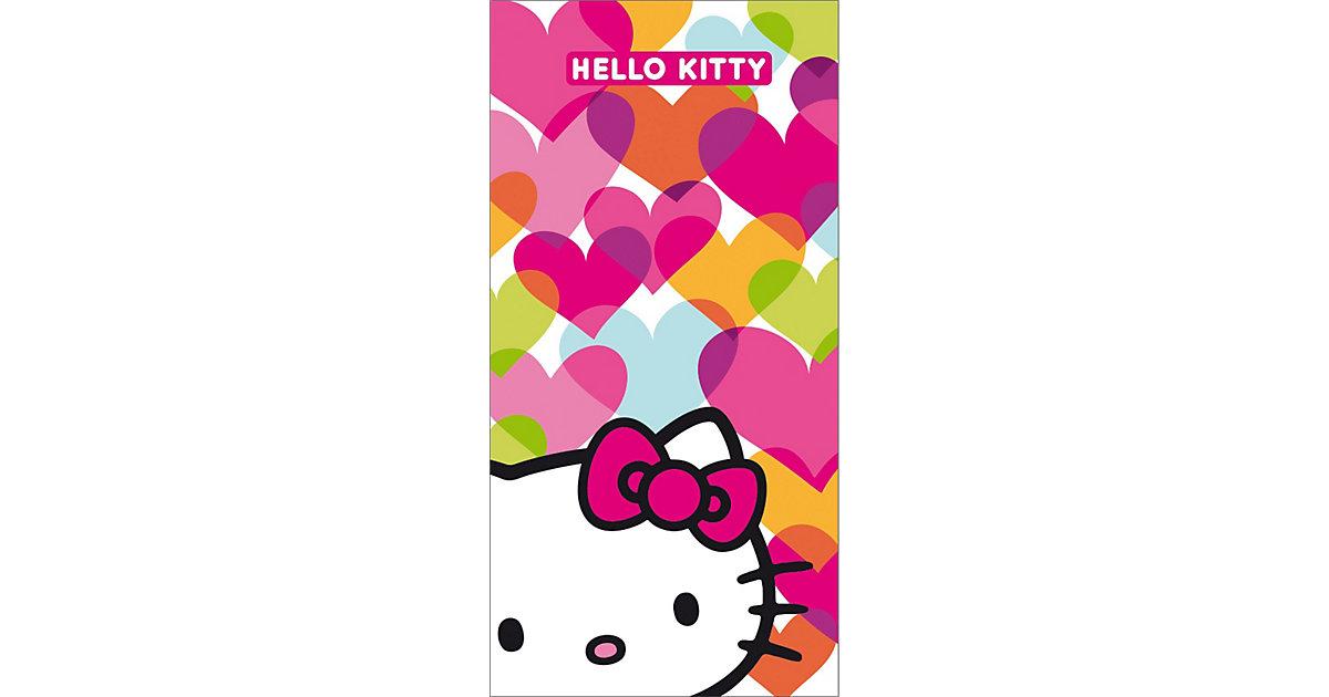 CTI · Strand- & Badetuch Hello Kitty, Mimi Love, 75 x 150 cm