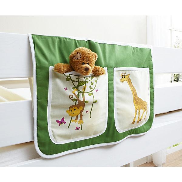Betttasche Für Hoch Und Etagenbetten Safari Grün Ticaa