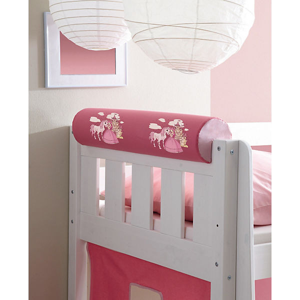 nackenrolle f r spiel und hochbetten prinzessin pink rosa ticaa mytoys. Black Bedroom Furniture Sets. Home Design Ideas