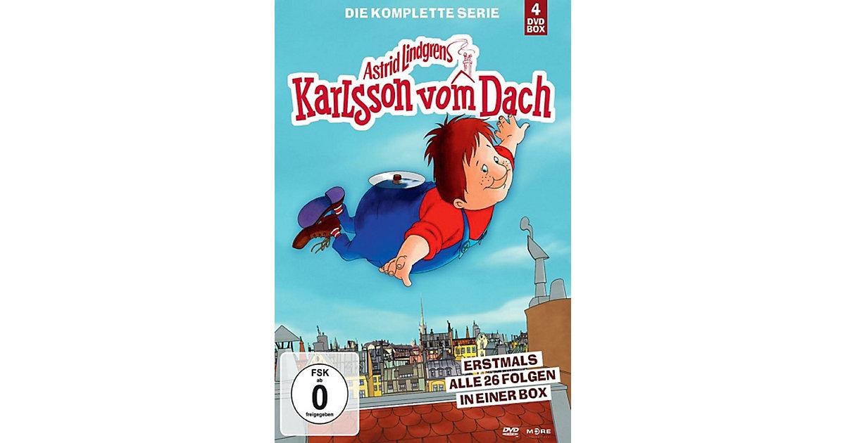 DVD Karlsson Vom Dach (4DVD) Hörbuch