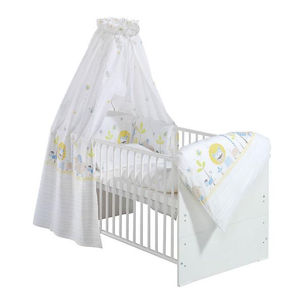 Kinderbett Classic Line Weiß Komplett Weiß 70 X 140 Cm Cuba Schardt