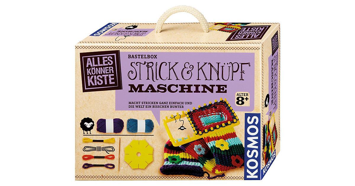 Bastelbox Strick- und Knüpfmaschine
