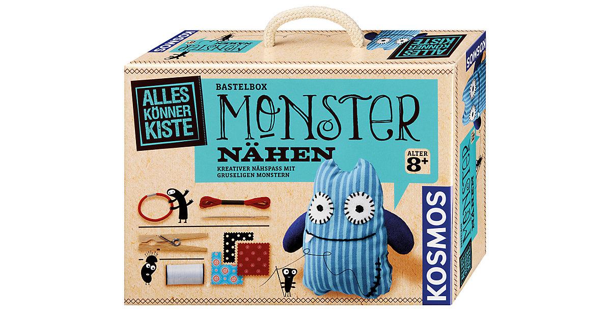 Bastelbox Monster nähen