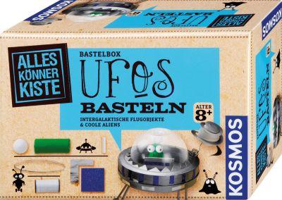 Bastelbox UFOs basteln für kleine Weltraumforscher