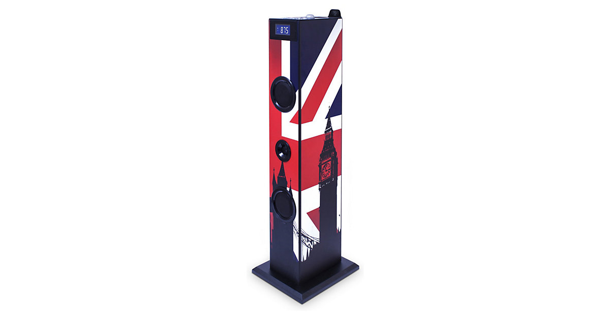 Musikanlage Sound Tower TW5 Union Jack