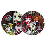 Тарелка бумажная, 18см, 10шт, Monster High