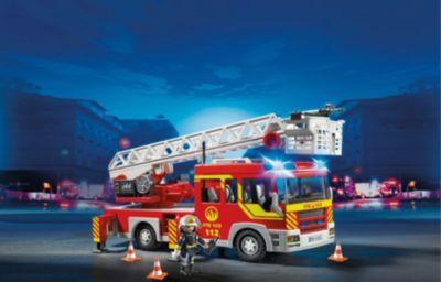 PLAYMOBIL® 5362 Feuerwehr-Leiterfahrzeug mit Licht und Sound
