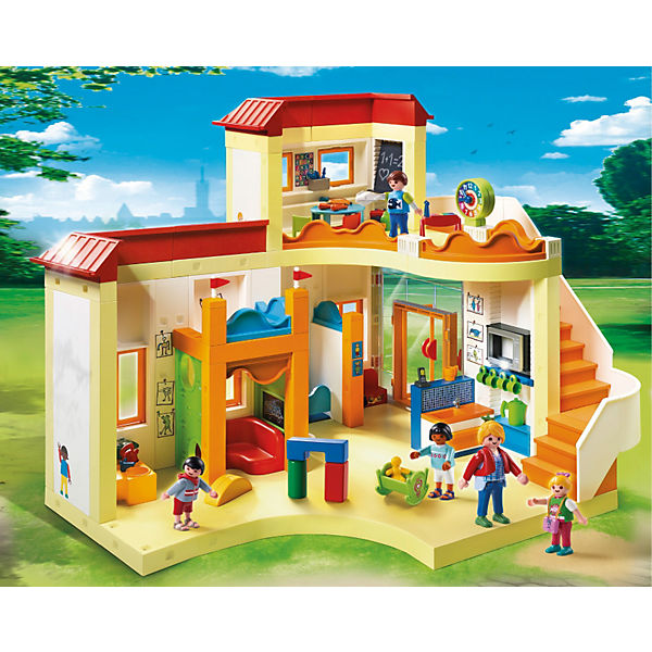 Playmobil 5567 kita sonnenschein playmobil city life for Playmobil modernes haus 9266