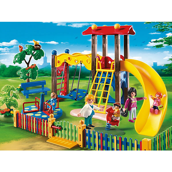 playmobil 5568 kinderspielplatz playmobil mytoys. Black Bedroom Furniture Sets. Home Design Ideas