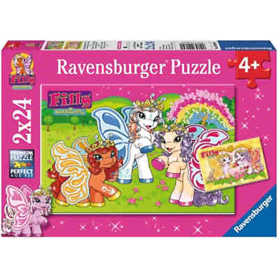 Puzzle Märchenhafte Filly® Welt 2x24 Teile