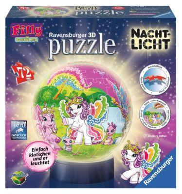 puzzleball® Nachtlicht Filly Welt 72 Teile