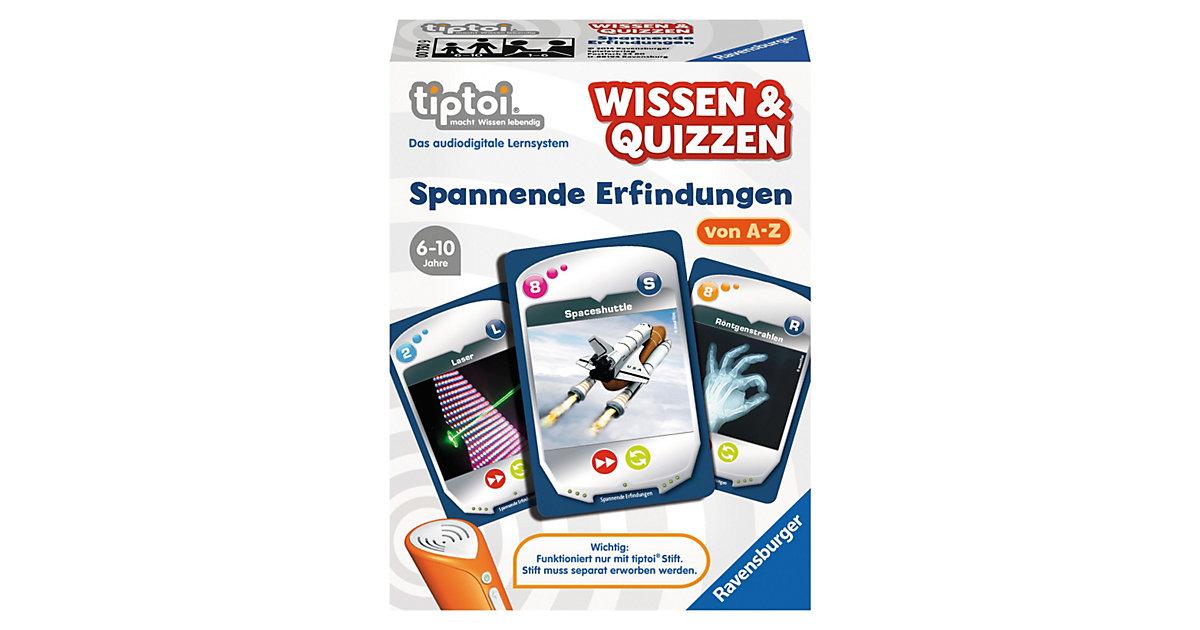tiptoi® Wissen & Quizzen: Erfindungen (ohne Stift)