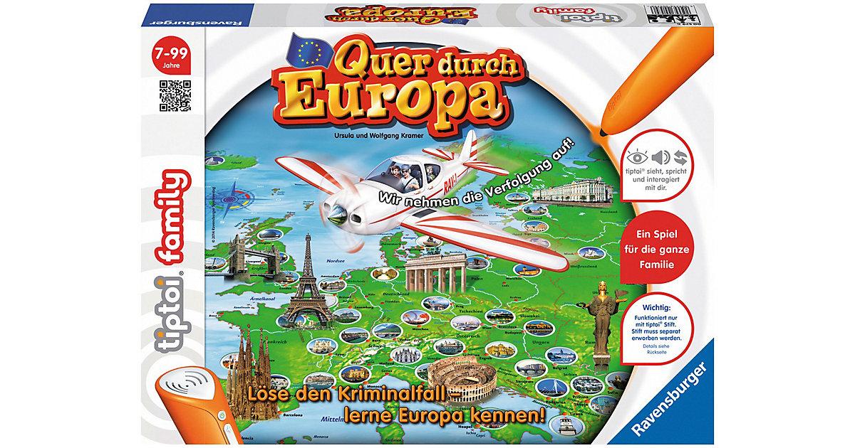 tiptoi® Quer durch Europa (ohne Stift)