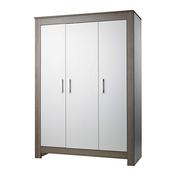 kleiderschrank marlene wenge lehm wei 3 t rig geuther mytoys. Black Bedroom Furniture Sets. Home Design Ideas