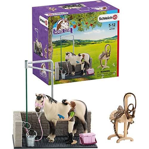 Набор для мойки лошадей, Schleich от Schleich