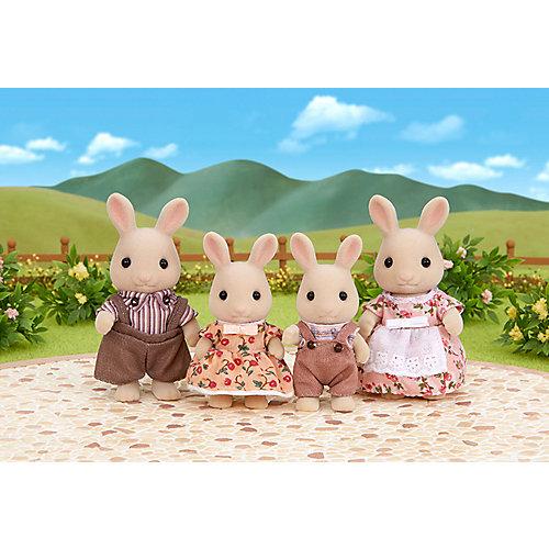 """Набор """"Семья молочных кроликов"""" Sylvanian Families от Эпоха Чудес"""