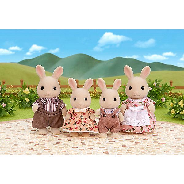 """Набор """"Семья молочных кроликов"""" Sylvanian Families"""