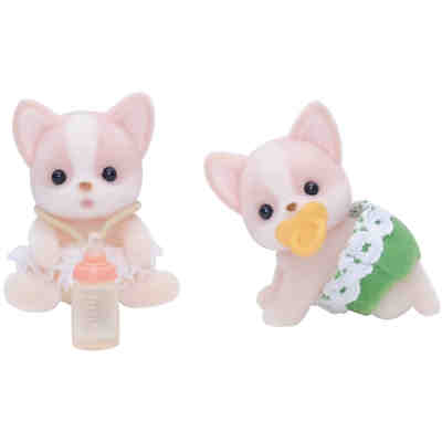 Sylvanian Families Chihuahua Zwillinge Puppenhauszubehör