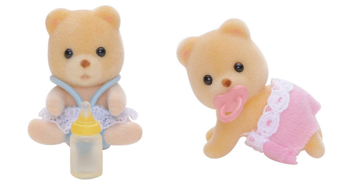 Sylvanian Families Bären Zwillinge Puppenhauszubehör