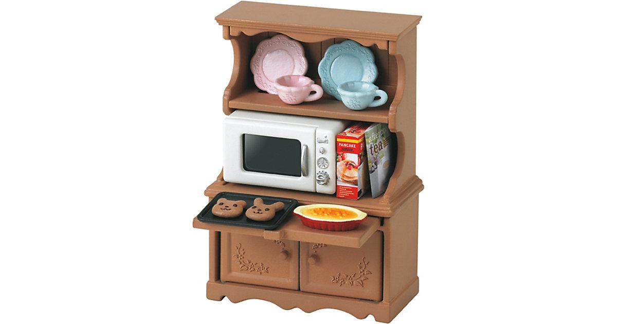 Sylvanian Families Geschirrschrank mit Mikrowelle | Küche und Esszimmer > Küchenschränke > Buffets und Buffetschränke | Epoch Traumwiesen