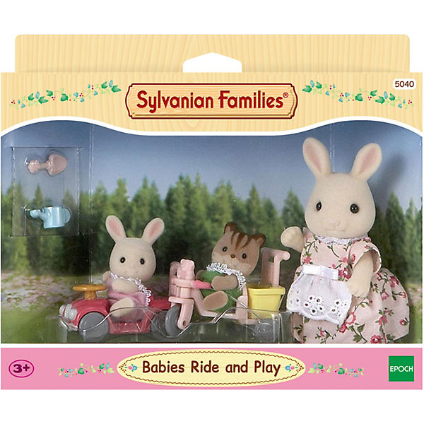 Sylvanian Families Babys Fahr- und Spiel-Set, Sylvanian Families gWaGHH